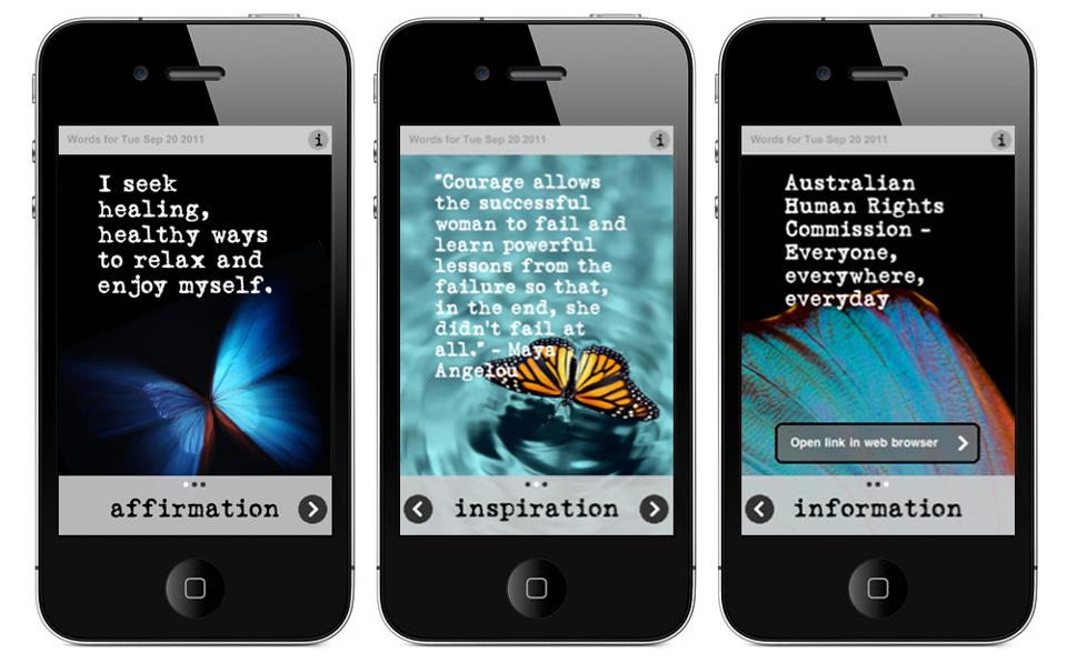 iPhone app qif0bv Several recent studies have found some 17 28 percent of teens and young ...