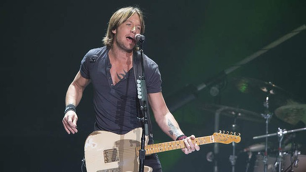 Fans at a Keith Urban concert in Boston last week watched on as a 17-year-old girl was allegedly raped, apparently unaware that a sexual assault was taking place. Photo: Harrison Saragossi